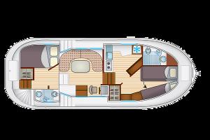 hausboot penichette 1020 fb preise. Black Bedroom Furniture Sets. Home Design Ideas