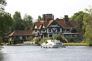 Hausboote in England