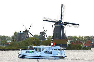 Hausboote in Holland