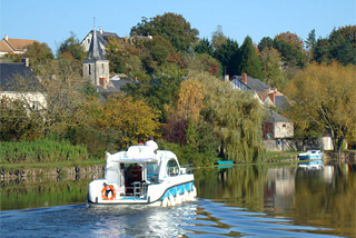 Hausboot-Region Anjou