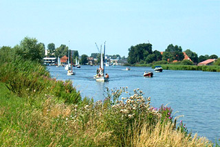 Hausboot-Region Friesland